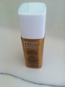 Revlon Nearly Naked Liquid Foundation