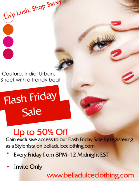 Flash Friday Sale at BellaDulce Clothing