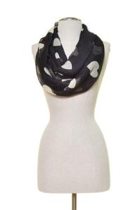 heart scarf belladulce clothing