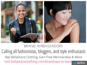 Brand Ambassador BellaDulce Clothing